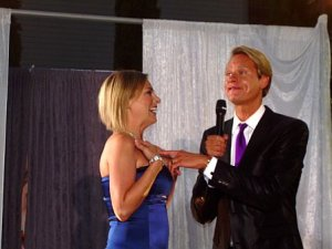 Heather and Carson Kressley